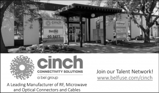 A Leading Manufacturer of RF, Microwave and Optical Connectors and Cables