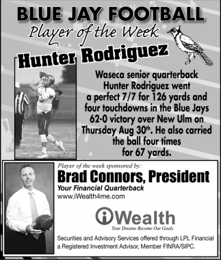 Player of the Week - Hunter Rodriguez