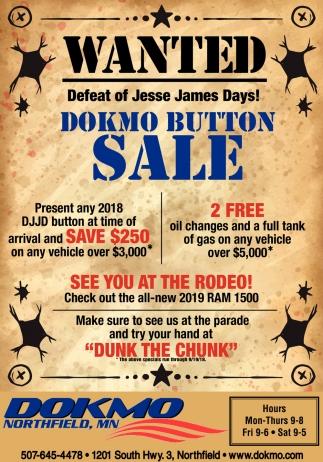 Defeat of Jesse James Days!