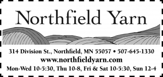 Whether you're a beginner or an expert, planning a starter project or an heirloom sweater, you'll find what you need at Northfield Yarn
