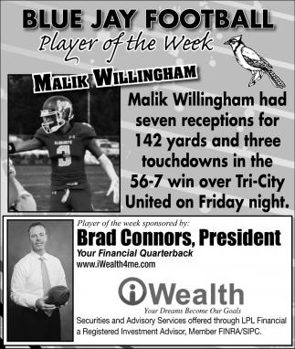 Player of the Week - Malik Willingham