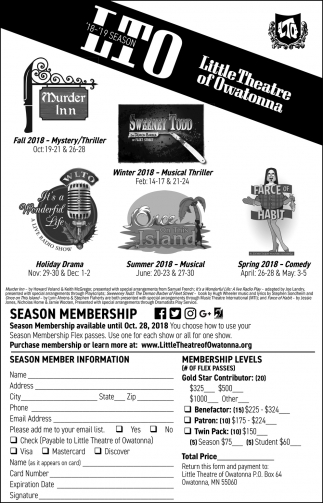 Season Membership