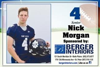 4 Senior Nick Morgan