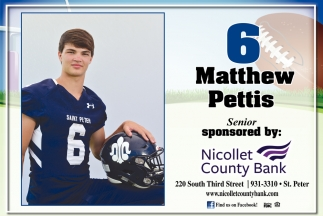 6 Senior Matthew Pettis