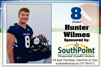 8 Senior Hunter Wilmes