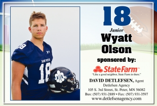 18 Juniot Wyatt Olson