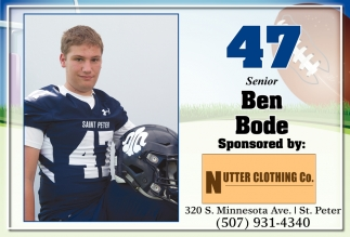 47 Senior Ben Bode