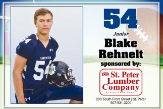 54 Junior Blake Rehnelt