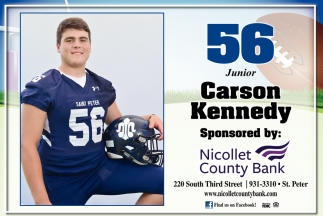 56 Junior Carson Kennedy