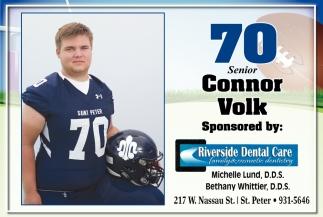 70 Senior Connor Volk