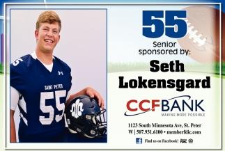 55 Senior Seth Lokensgard