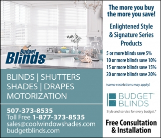 Blinds, Shutters, Shades, Drapes Motorization