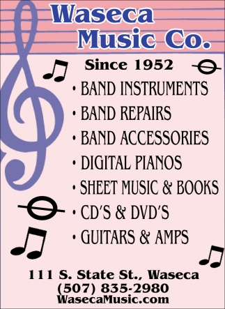 Band Instruments, Repairs, Accesories