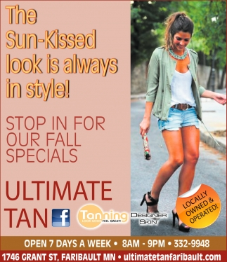The Sun-Kissed look is always in style!