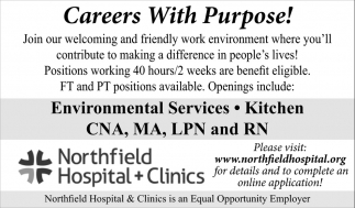 Careers With Purpose!