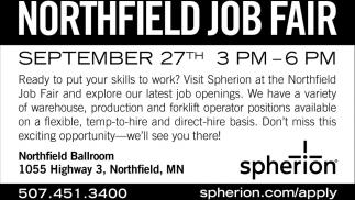 Northfield Job Fair