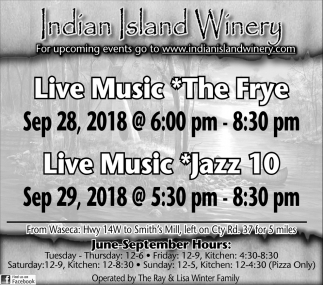 The Frye,  Sep 28 - Jazz 10, Sep 29