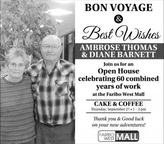 Ambrose Thomas & DIane Barnett