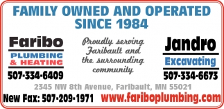 FAMILY OWNED AND OPERATED SINCE 1984