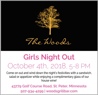 Girls Night Out - October 4th