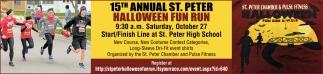15th Annual St. Peter Halloween Fun Run