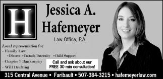 Jessica A. Hafemeyer