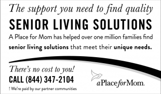 Senior Living Solutions
