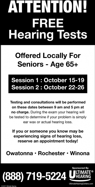 Attention Free Hearing Tests