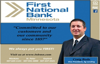 Committed to our customers and our community since 1857
