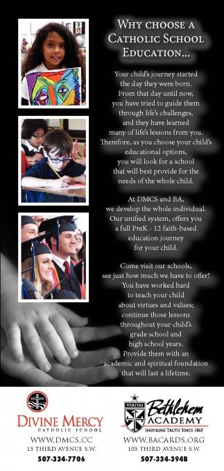 WHY CHOOSE A CATHOLIC SCHOOL EDUCATION