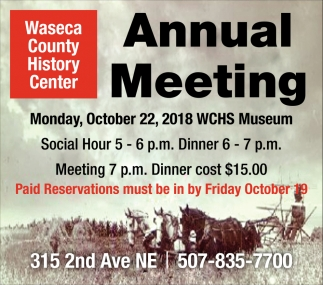 Annual Meeting - October 22