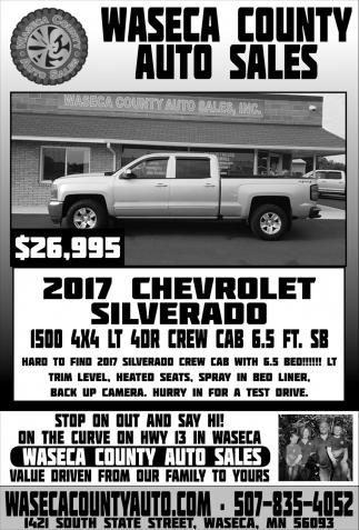 2017 Chevrolet Silverado