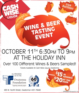 Wine & Beer Tasting Event