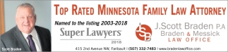 Top Rated Minnesota Family Law Attorney