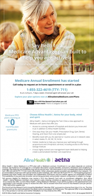 Medicare  Advantage  plan built to help you age actively
