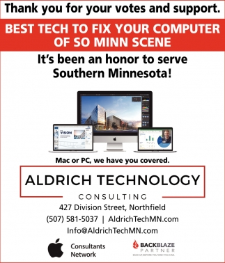 Computer Repair & Service , Aldrich Technology Consulting, Northfield, MN