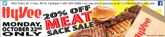 20% off  meat sack sale