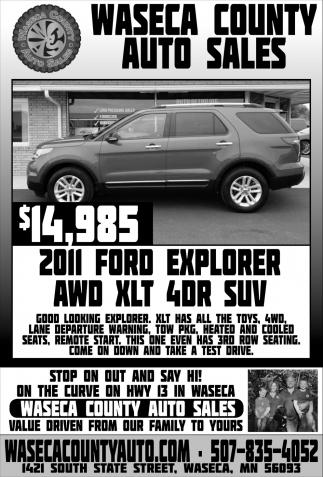 2011 Ford Explorer AWD