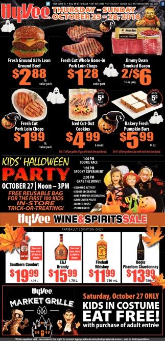 Kids' Halloween Party, October 27