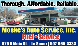Thorough. Affordable. Reliable