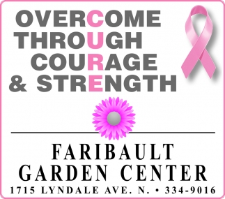 Overcome, Through, Courage & Strength