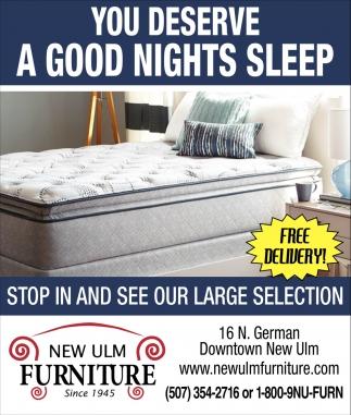 You deserve a good nights sleep