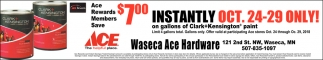 Ace Rewards Members Save $7ºº