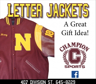 Letter Jackets - A Great Gift Idea!
