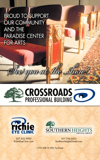 Proud to support our community and the Paradise Center for Arts