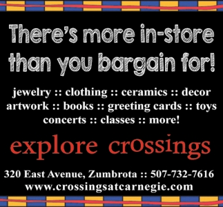 There's more in-store than you bargain for!