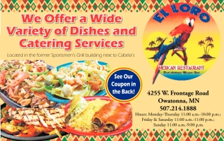 Ads For El Loro Mexican Restaurant In Owatonna Mn