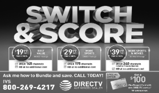 Ads For Directv in Southern Minn