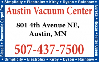 Your One Stop Vac Shop, Austin Vacuum Center, Austin, MN