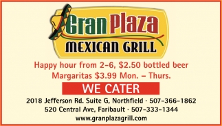 Offering authentic Mexican cuisines
